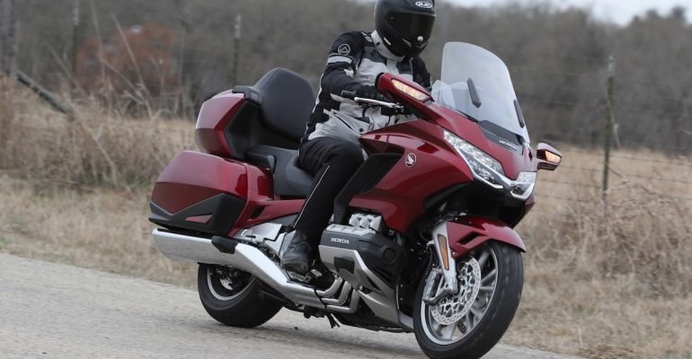 Test Honda Gold Wing 2018