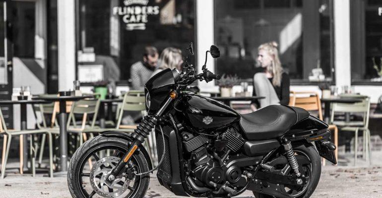 Test Harley-Davidson Street 750