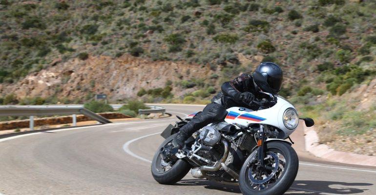 BMW R Nine-T Racer 2017 Test
