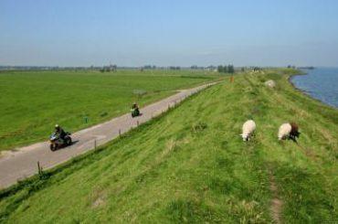 Pal langs de Zuiderzee