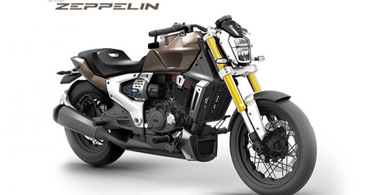 TVS Zeppelin: hybride benzine-elektrische cruiser