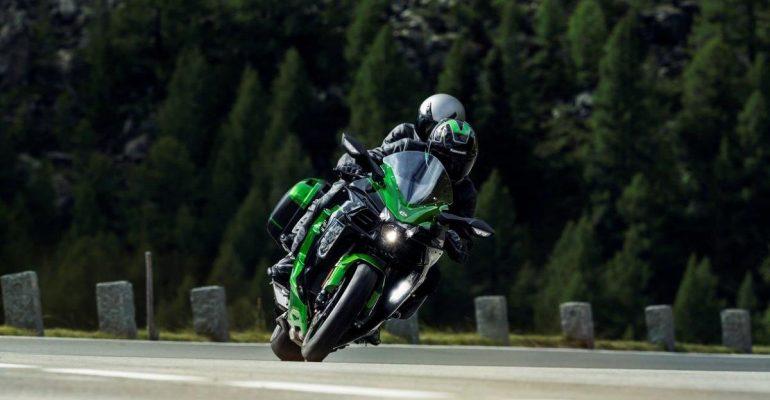 Kawasaki Ninja H2 SX nu bij de dealer