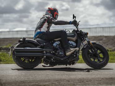 Test Indian Scout Bobber
