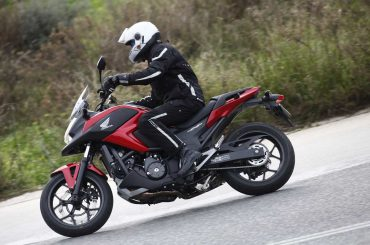 Honda NC750X 2014 Test