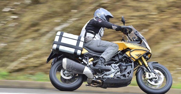 Test Aprilia Caponord 1200 Rally
