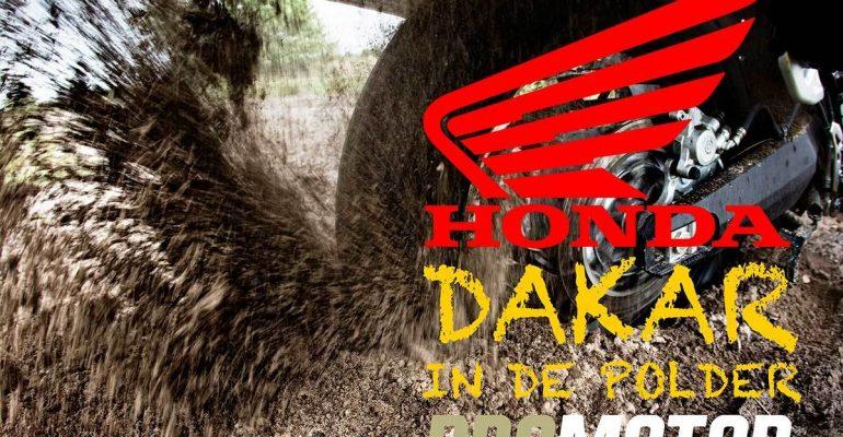 Honda & Promotor: Dakar in de Polder