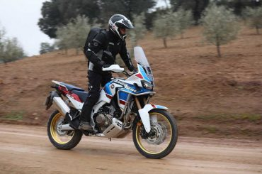 Honda Africa Twin Adventure Sports 2018 Test