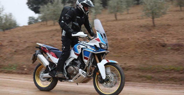 Honda Africa Twin Adventure Sports 2018 Test