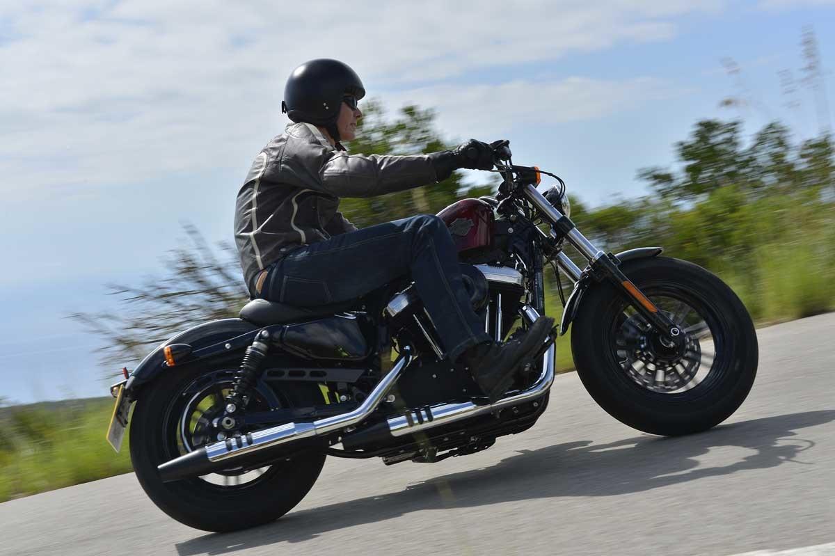 Harley Davidson Iron 883 En Forty Eight Motor Nl