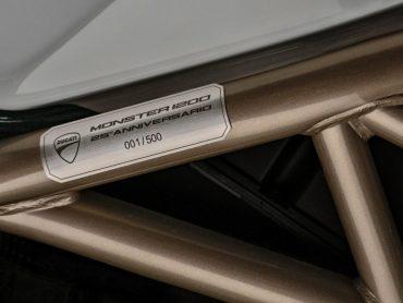 Nieuw: Ducati Monster 1200 25 Anniversario