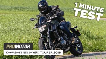 Kawasaki Ninja 650 Tourer 2018 – 1 Minute Test Promotor