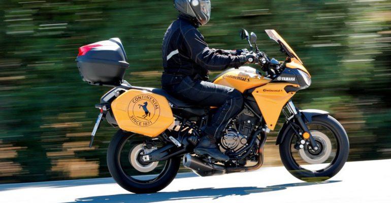 Yamaha Tracer 700 motor van de Vuelta