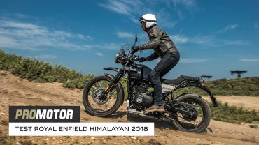 Royal Enfield Himalayan 2018 – test Promotor