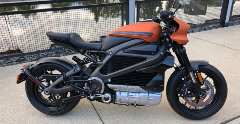 Harley-Davidson laat Livewire zien op verjaardagsfeestje