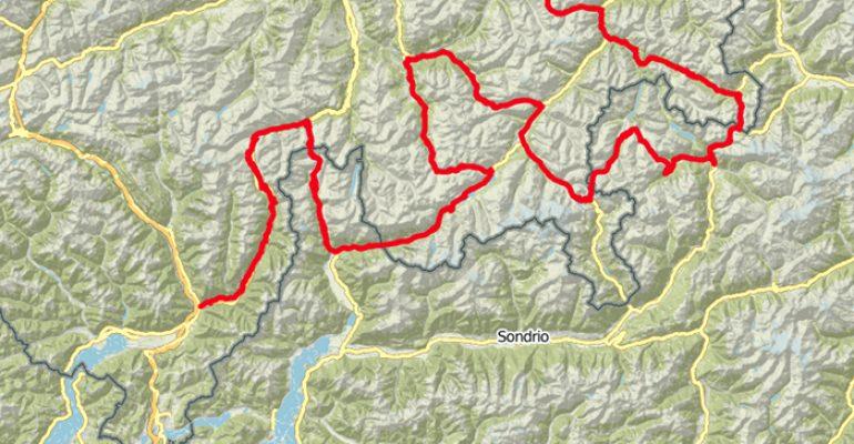 Van Tessin naar Graubünden