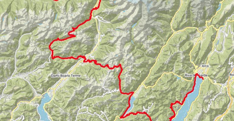 Van het Gardameer naar de Berninapas