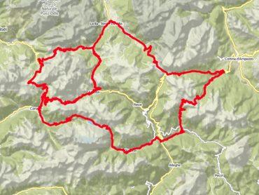 Passencaroussel in de Dolomieten
