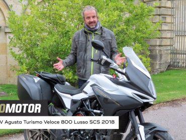 MV Agusta Turismo Veloce 800 Lusso SCS 2018 Test