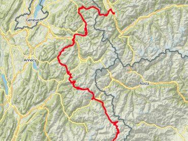 Vanuit de Rhône-dal naar de Mont Cenis