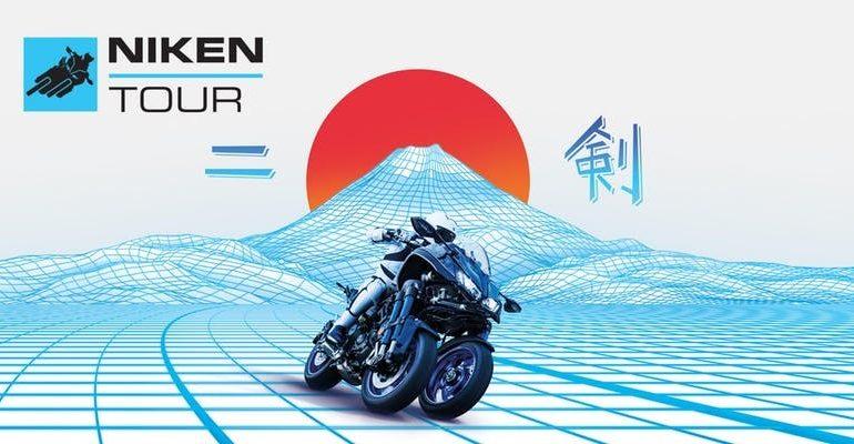 Yamaha Niken on Tour