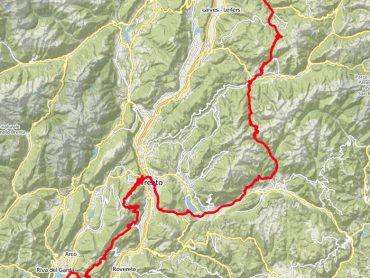 Van Zuid-Tirol naar het Gardameer