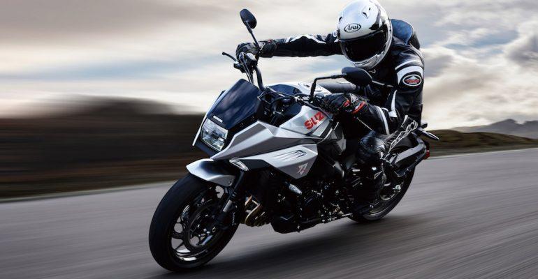 Suzuki introduceert GSX-S1000 Katana 2019