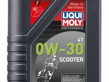 Liqui Moly maakt speciale start-stop scooterolie.