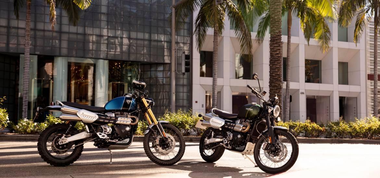 Triumph 1200 Scrambler XE en XC