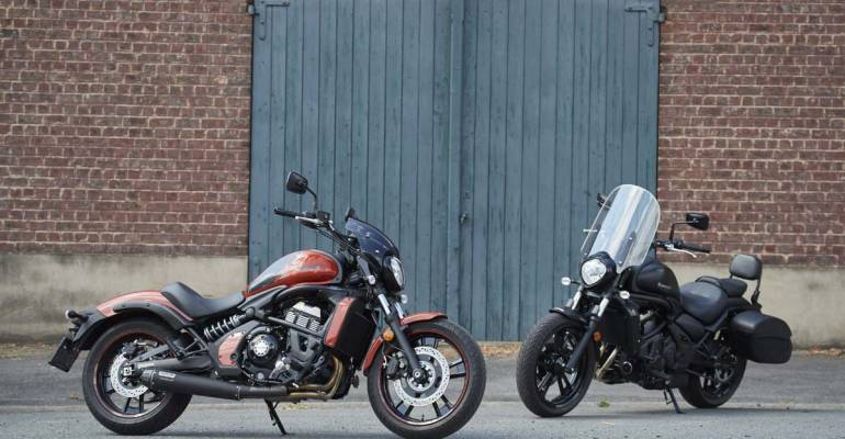 Kawasaki Vulcan S(E) Sport & Light Tourer: Test