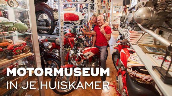 Motormuseum in je huiskamer