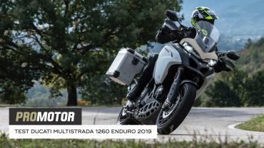 Ducati Multistrada 1260 Enduro 2019 test