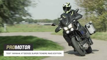 Yamaha XT1200ZE Super Ténéré Raid Edition test