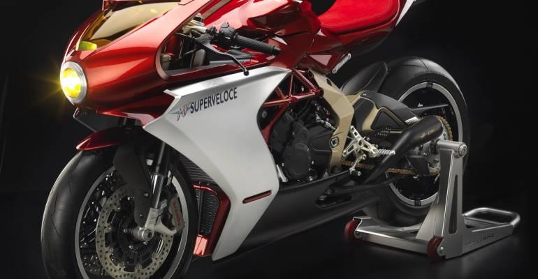 MV Agusta Superveloce 800: ouderwets mooi.