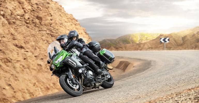 2019 Kawasaki Versys 1000 en SE: veel nieuwe elektronica
