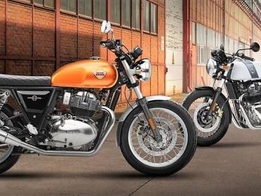Royal Enfield Interceptor 650 and Continental GT 650 2019