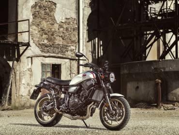 Yamaha XSR700 XTribute eert de XT500