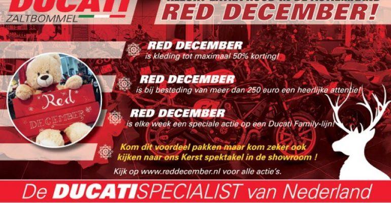 RED DECEMBER bij Ducati Zaltbommel