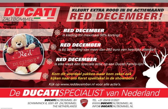 Ducati Zaltbommel - Red December