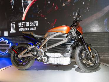 Harley-Davidson LiveWire in actie [VIDEO]