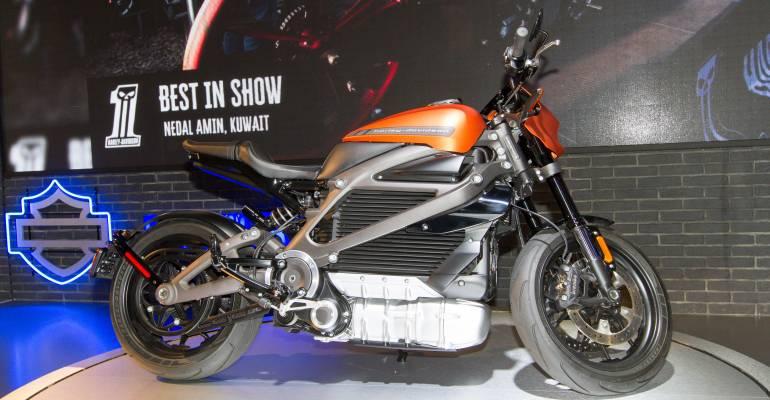 Harley-Davidson LiveWire in actie [VIDEO]