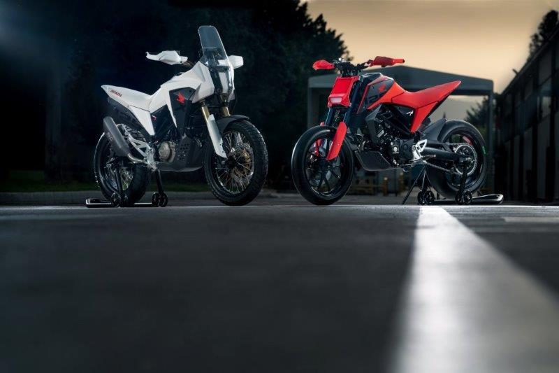 2019 Honda CB125X en CB125M concept