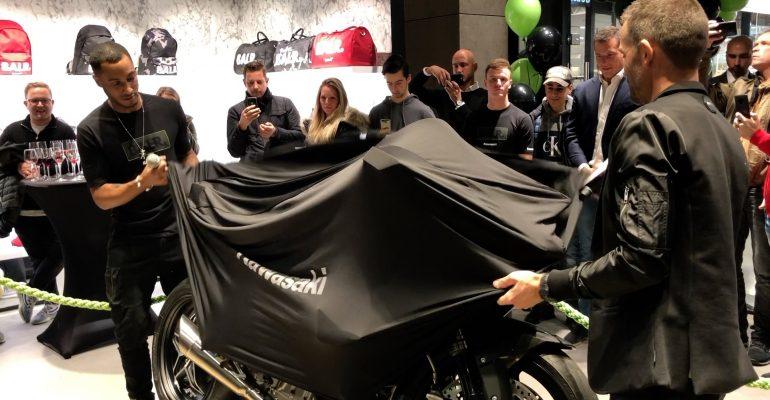 DJ Sunnery James onthult Kawasaki Ninja H2R BALR. special edition