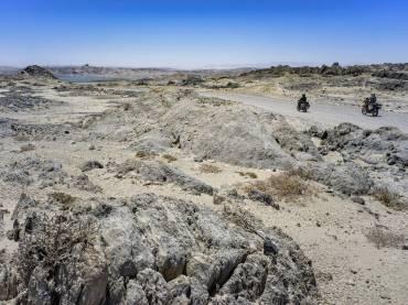 Namibië: Op een Royal Enfield en een KTM door de Namibwoestijn