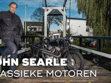John Searle – Verzamelaar van klassieke motoren