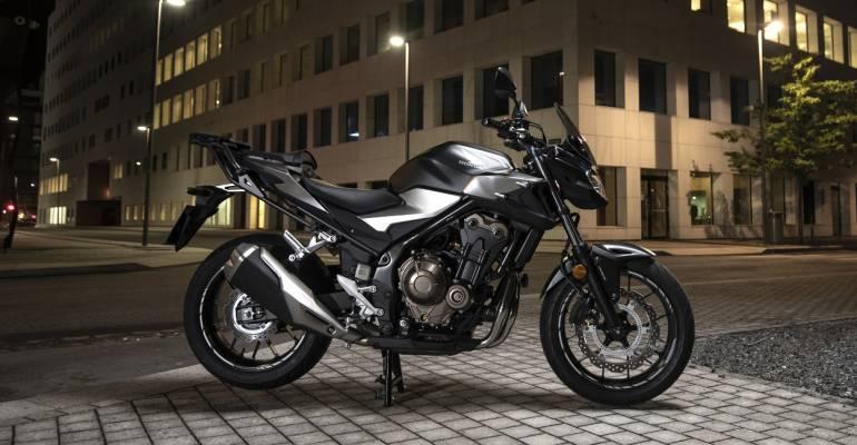 Honda CB500F: branieschopper voor A2-rijbewijs