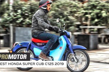 Honda Super Cub C125 2019 – test Promotor