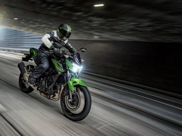 Kawasaki Z300 verandert in Z400