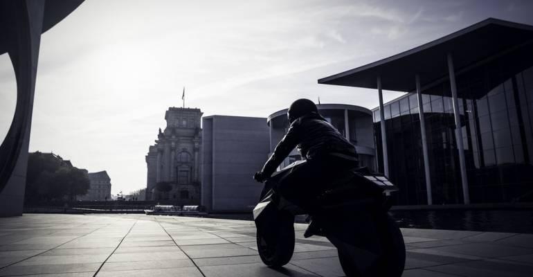 's Wereld eerste geprinte motorfiets