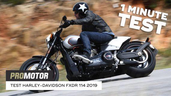 Harley-Davidson FXDR 114 2019 – 1 minute test
