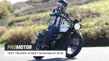 Triumph Street Scrambler 2019 – test